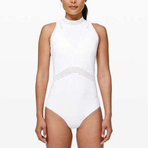 Lululemon Beach Break Paddlesuit Size 8 White